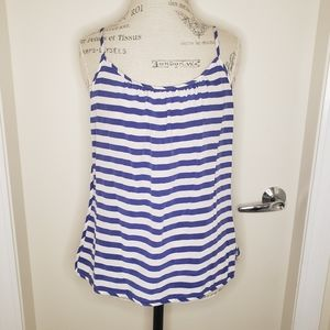 Juicy Couture stripes silk camisole circus tank